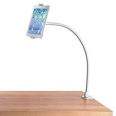 Universal Faltbare Ständer Tablet Halter Halterung Flexibel T37 für Apple iPad Mini 5 (2019) Weiß