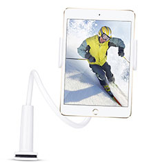 Universal Faltbare Ständer Tablet Halter Halterung Flexibel T38 für Samsung Galaxy Tab S 8.4 SM-T705 LTE 4G Weiß