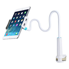 Universal Faltbare Ständer Tablet Halter Halterung Flexibel T39 für Samsung Galaxy Tab E 9.6 T560 T561 Weiß