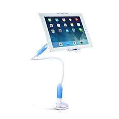 Universal Faltbare Ständer Tablet Halter Halterung Flexibel T41 für Huawei Mediapad T1 7.0 T1-701 T1-701U Hellblau