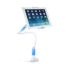 Universal Faltbare Ständer Tablet Halter Halterung Flexibel T41 für Samsung Galaxy Tab S 8.4 SM-T705 LTE 4G Hellblau