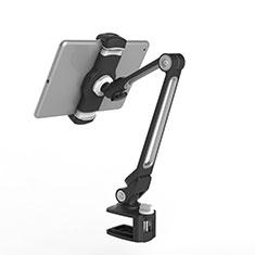 Universal Faltbare Ständer Tablet Halter Halterung Flexibel T43 für Apple iPad 3 Schwarz