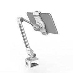 Universal Faltbare Ständer Tablet Halter Halterung Flexibel T43 für Apple New iPad Pro 9.7 (2017) Silber