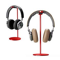 Universal Ständer Ohrhörer Headset Kopfhörer Stand H01 für Huawei Matebook Hz W09 Rot