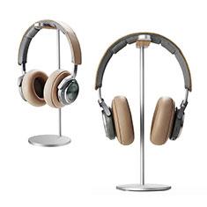 Universal Ständer Ohrhörer Headset Kopfhörer Stand H01 für Huawei Matebook Hz W09 Silber