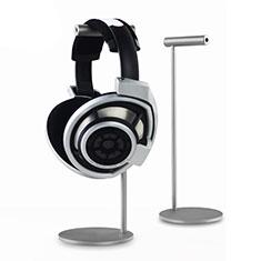 Universal Ständer Ohrhörer Headset Kopfhörer Stand für Samsung Galaxy Tab A6.10.1 SM-T580 SM-T585 Silber