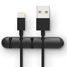 USB Ladekabel Kabel C02 für Apple iPad Pro 12.9 (2020) Schwarz