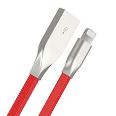 USB Ladekabel Kabel C05 für Apple iPhone 11 Rot