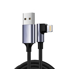 USB Ladekabel Kabel C10 für Apple iPad Pro 12.9 (2020) Schwarz