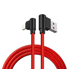 USB Ladekabel Kabel D15 für Apple iPhone 12 Rot