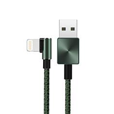 USB Ladekabel Kabel D19 für Apple iPad 10.2 (2020) Grün