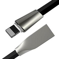 USB Ladekabel Kabel L06 für Apple iPod Touch 5 Schwarz