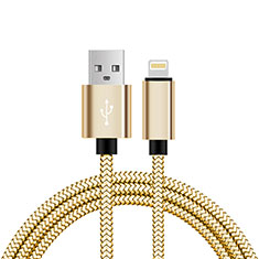 USB Ladekabel Kabel L07 für Apple iPad Mini 5 (2019) Gold