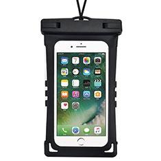 Wasserdicht Unterwasser Handy Schutzhülle Universal für Oppo A15 Schwarz