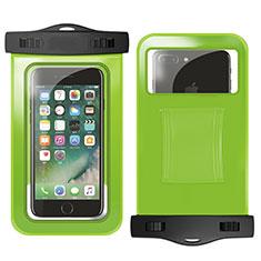 Wasserdicht Unterwasser Handy Schutzhülle Universal W02 für Nokia 3.1 Plus Grün