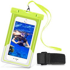Wasserdicht Unterwasser Handy Schutzhülle Universal W03 für Nokia 3.1 Plus Grün