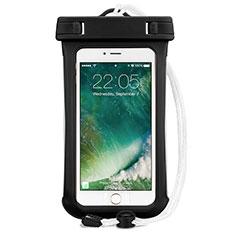 Wasserdicht Unterwasser Handy Tasche Universal für Oppo A15 Schwarz