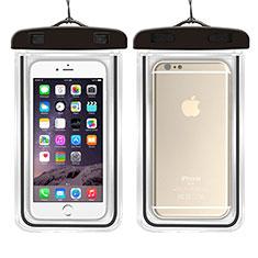 Wasserdicht Unterwasser Handy Tasche Universal W01 für Oppo A15 Schwarz