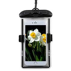 Wasserdicht Unterwasser Handy Tasche Universal W11 für Oppo A15 Schwarz