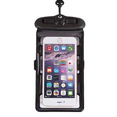 Wasserdicht Unterwasser Handy Tasche Universal W18 Schwarz