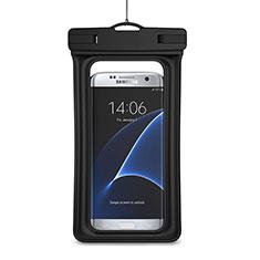 Wasserdicht Unterwasser Schutzhülle Tasche Universal für Oppo A15 Schwarz