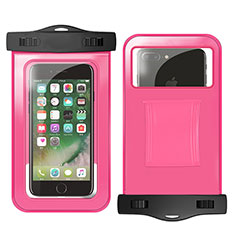 Wasserdicht Unterwasser Schutzhülle Tasche Universal W02 für Nokia 3.1 Plus Pink