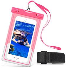 Wasserdicht Unterwasser Schutzhülle Tasche Universal W03 für Nokia 3.1 Plus Rosa