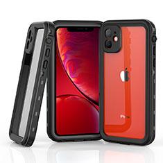Wasserdicht Unterwasser Silikon Hülle Handyhülle und Kunststoff Waterproof Schutzhülle 360 Grad Tasche W03 für Apple iPhone 11 Grau