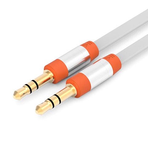 Audio Stereo 3.5mm Klinke Kopfhörer Verlängerung Kabel auf Stecker A12 Orange