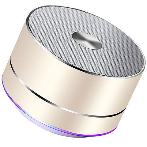 Bluetooth Mini Lautsprecher Wireless Speaker Boxen K01 Gold