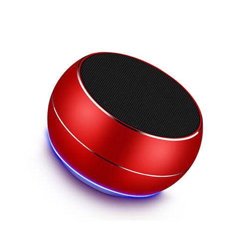 Bluetooth Mini Lautsprecher Wireless Speaker Boxen Rot