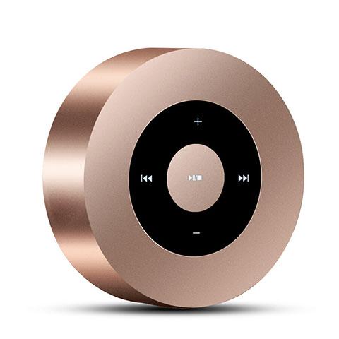 Bluetooth Mini Lautsprecher Wireless Speaker Boxen S07 Gold