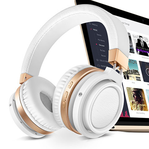 Bluetooth Wireless Stereo Ohrhörer Sport Headset In Ear Kopfhörer H71 Weiß