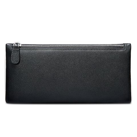 Handtasche Clutch Handbag Schutzhülle Leder Universal H17 Schwarz