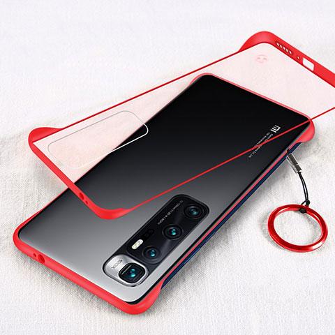 Handyhülle Hülle Crystal Hartschalen Tasche Schutzhülle H01 für Xiaomi Mi 10 Ultra Rot
