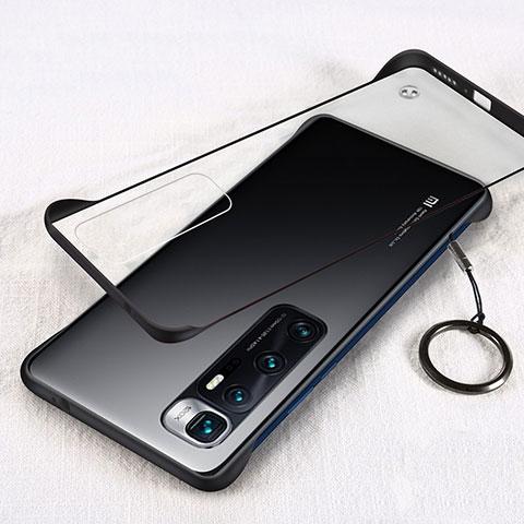 Handyhülle Hülle Crystal Hartschalen Tasche Schutzhülle H01 für Xiaomi Mi 10 Ultra Schwarz