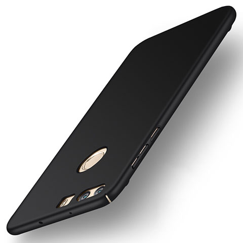 Handyhülle Hülle Kunststoff Schutzhülle Matt für Huawei Honor 8 Schwarz