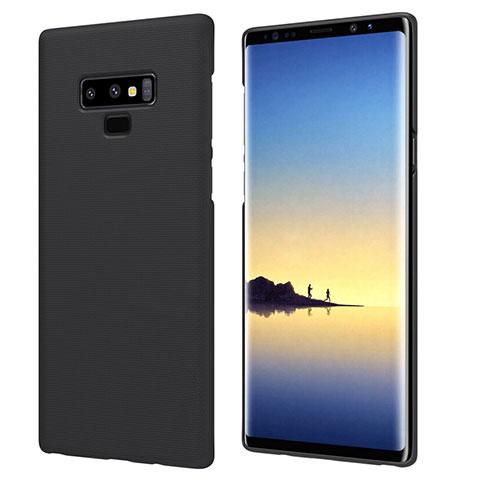 Handyhülle Hülle Kunststoff Schutzhülle Matt M04 für Samsung Galaxy Note 9 Schwarz