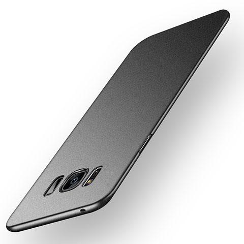 Handyhülle Hülle Kunststoff Schutzhülle Matt P03 für Samsung Galaxy S8 Plus Schwarz