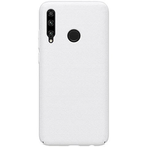 Handyhülle Hülle Kunststoff Schutzhülle Tasche Matt M01 für Huawei Honor 20 Lite Weiß