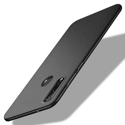 Handyhülle Hülle Kunststoff Schutzhülle Tasche Matt M02 für Huawei Honor 20 Lite Schwarz