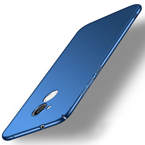 Handyhülle Hülle Kunststoff Schutzhülle Tasche Matt M02 für Sony Xperia L2 Blau