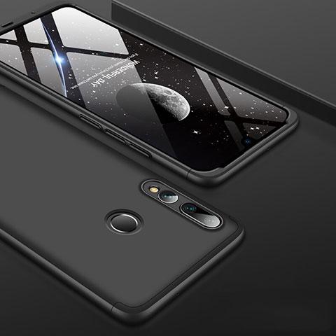 Handyhülle Hülle Kunststoff Schutzhülle Tasche Matt Vorder und Rückseite 360 Grad für Huawei Honor 20 Lite Schwarz