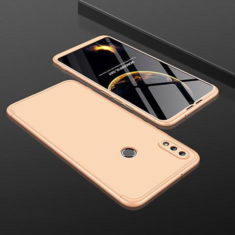 Handyhülle Hülle Kunststoff Schutzhülle Tasche Matt Vorder und Rückseite 360 Grad für Huawei Honor 8X Gold