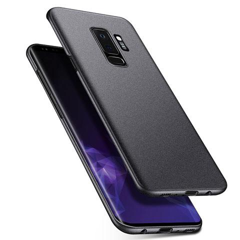 Handyhülle Hülle Kunststoff Schutzhülle Treibsand Q01 für Samsung Galaxy S9 Plus Grau