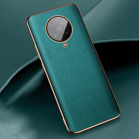Handyhülle Hülle Luxus Leder Schutzhülle für Xiaomi Poco F2 Pro Grün
