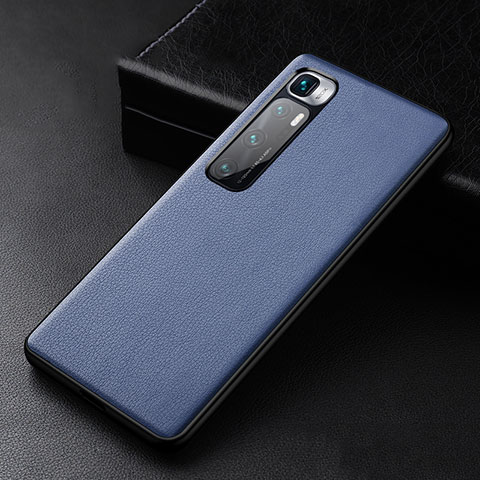 Handyhülle Hülle Luxus Leder Schutzhülle S01 für Xiaomi Mi 10 Ultra Blau