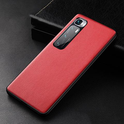Handyhülle Hülle Luxus Leder Schutzhülle S01 für Xiaomi Mi 10 Ultra Rot