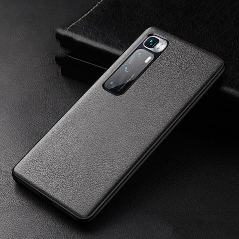 Handyhülle Hülle Luxus Leder Schutzhülle S01 für Xiaomi Mi 10 Ultra Schwarz