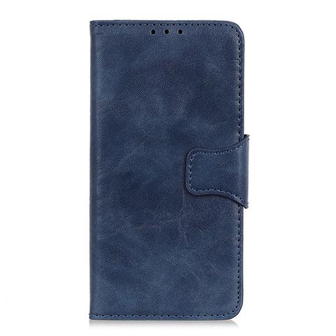 Handytasche Stand Schutzhülle Flip Leder Hülle für Oppo Reno3 A Blau